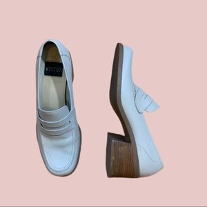Vintage Westies Trailblaze Oxford w/ Chunky Heel